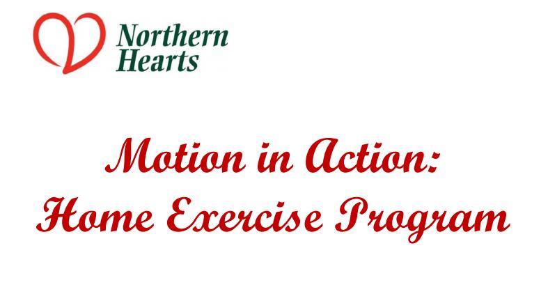 Heart Fitness In-Home Exercise Program
